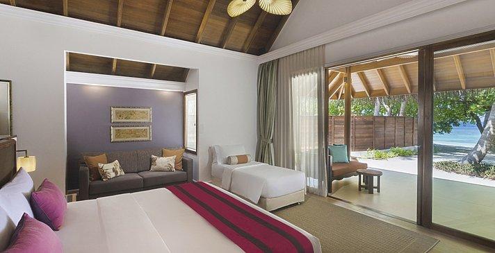 Beach Deluxe Villa mit Pool (mit Zustellbett) - Dusit Thani Maldives