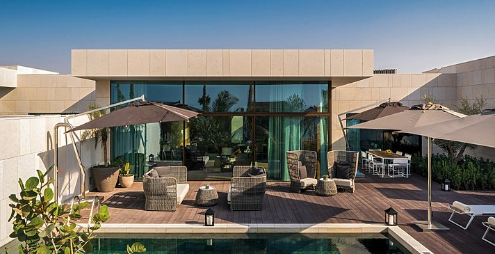Beach Pool Villa - Bulgari Resort Dubai