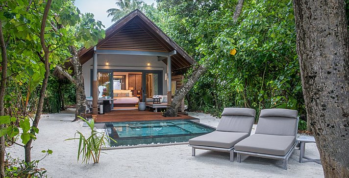 Beach Villa with Plunge Pool - Vakkaru Maldives