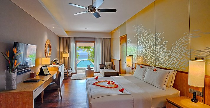 Beach Suite mit Pool - Lily Beach Resort & Spa