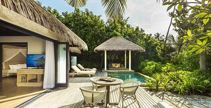 Beach Villa Pooldeck - COMO Maalifushi