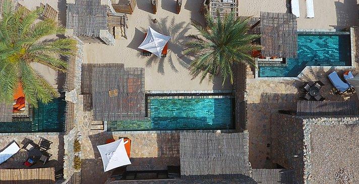 (Beachfront) Pool Villa Suite - Six Senses Zighy Bay