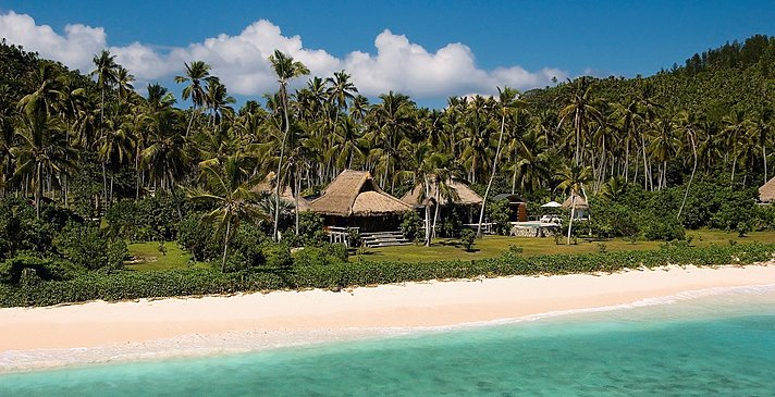 Beachfront Villa Außenansicht - North Island Resort