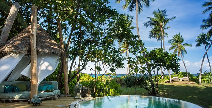 Beachfront Villa Pooldeck - North Island Resort
