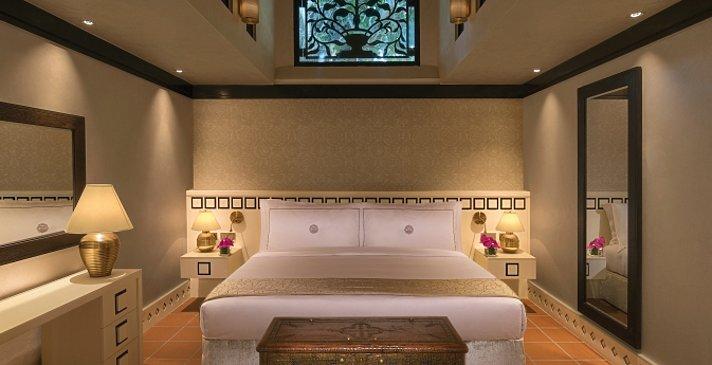 Schlafzimmer der One Bedroom Villa - Beit Al Bahar Villas