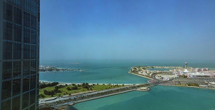Blick aus einem Superior Sea View Room
