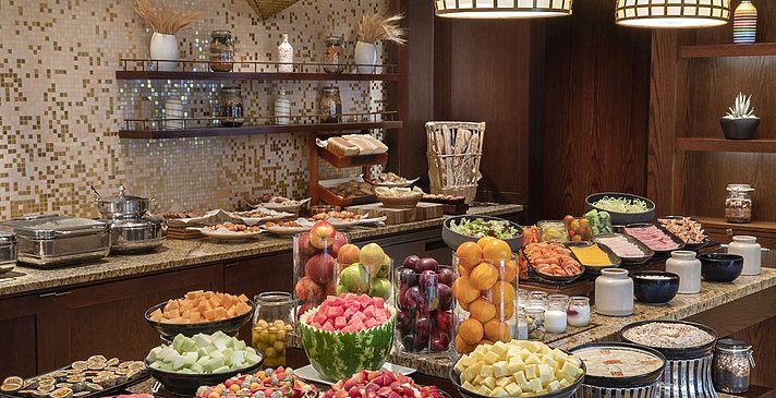 Buffet Club Lounge - The Ritz-Carlton, Dubai