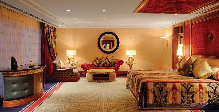 2-Bedroom Deluxe Suite zweites Schlafzimmer - Burj Al Arab Jumeirah