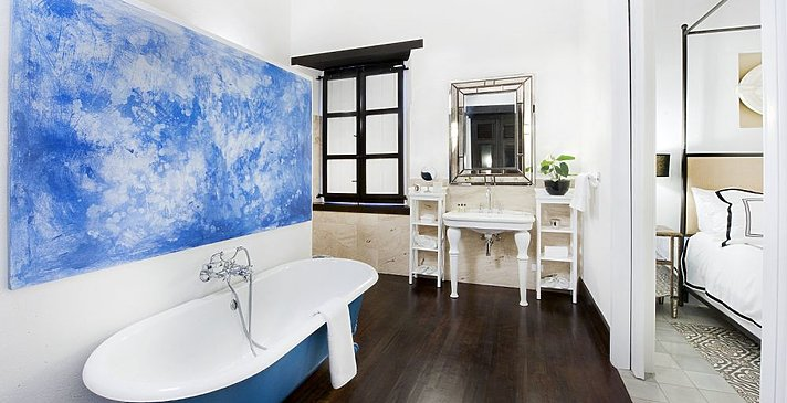 Luxury Room Badezimmer - Casas del XVI