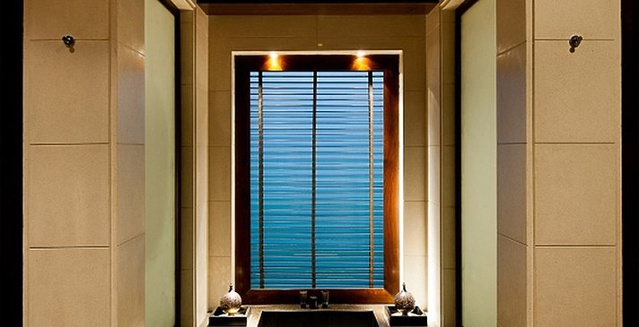 Chedi Club Suiten / Villen Badezimmer - The Chedi - Muscat