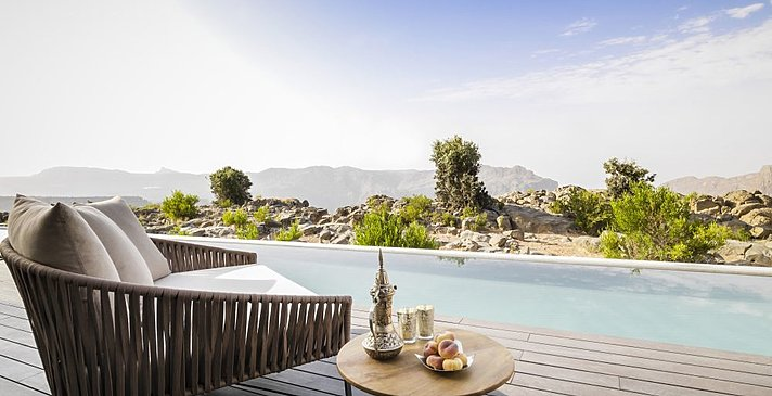 Terrasse Cliff Pool Villa - Anantara Jabal Akhdar Resort