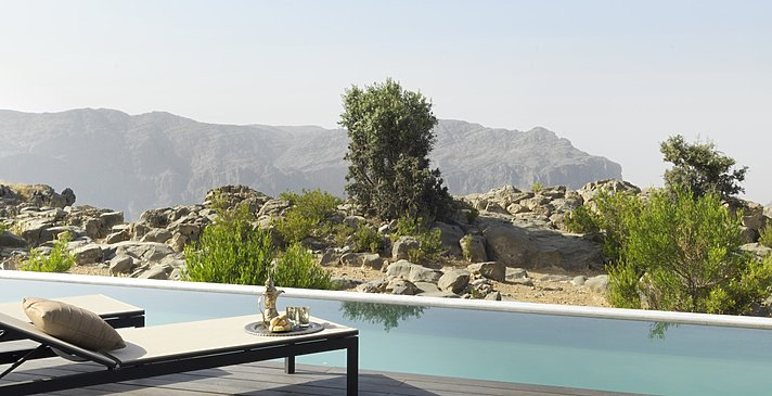 Cliff Pool Villa - Anantara Jabal Akhdar Resort