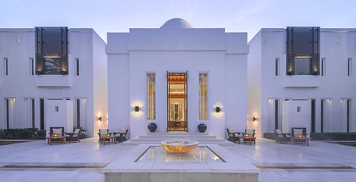 Club Lounge - The Chedi - Muscat