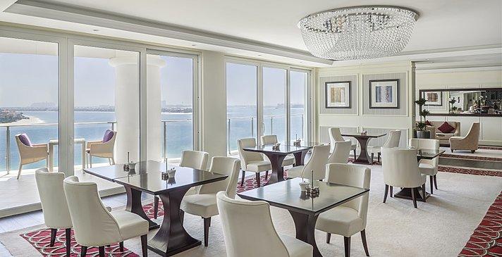 Club Lounge des Waldorf Astoria Dubai Palm Jumeirah