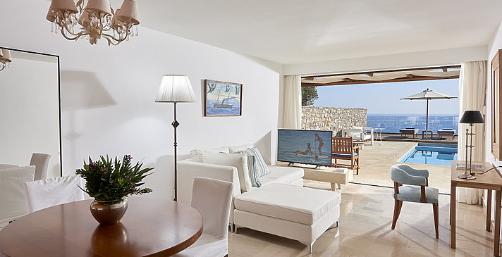 Club Suite 1 Bedroom - St. Nicolas Bay Resort Hotel & Villas