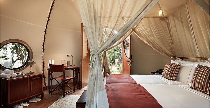 "Kinder Cocoon ""Urchin"" Suite - Wild Coast Tented Lodge"