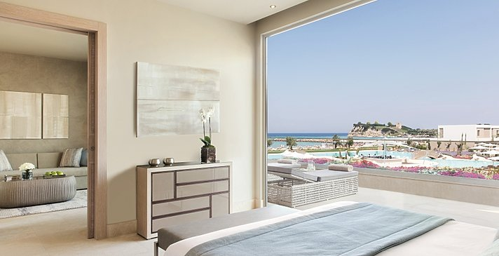 Deluxe 1 BR Suite Sea View - Sani Dunes