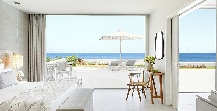 Deluxe 1BR Bungalow Suite Beachfront - Ikos Aria