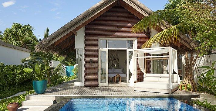 Deluxe Beach Sunrise Villa - Fairmont Maldives Sirru Fen Fushi