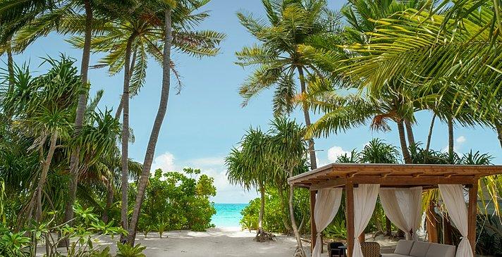 Deluxe Beach Sunset Villa - Fairmont Maldives Sirru Fen Fushi