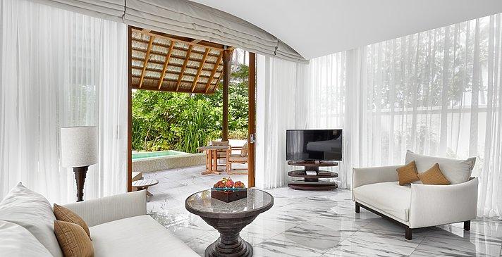 Deluxe Beach Villa - Conrad Maldives Rangali Island