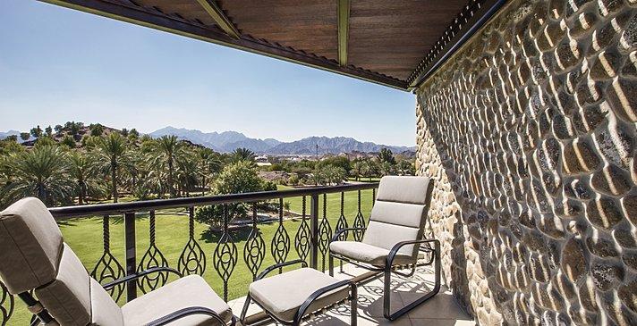 Deluxe Mountain View Balkon - JA Hatta Fort Hotel