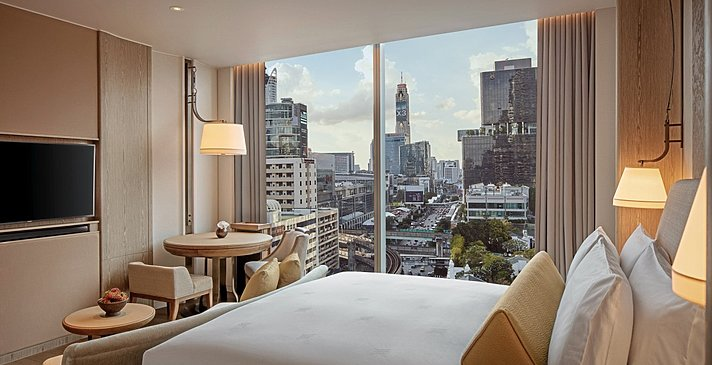 Deluxe City View - Waldorf Astoria Bangkok