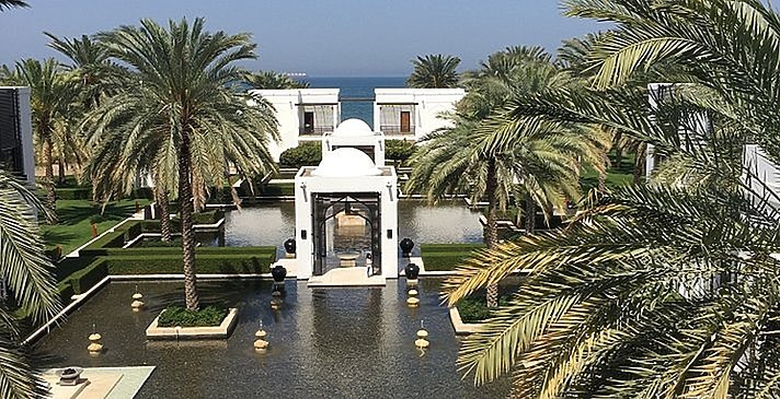 Deluxe Club with Terrace Blick - The Chedi - Muscat
