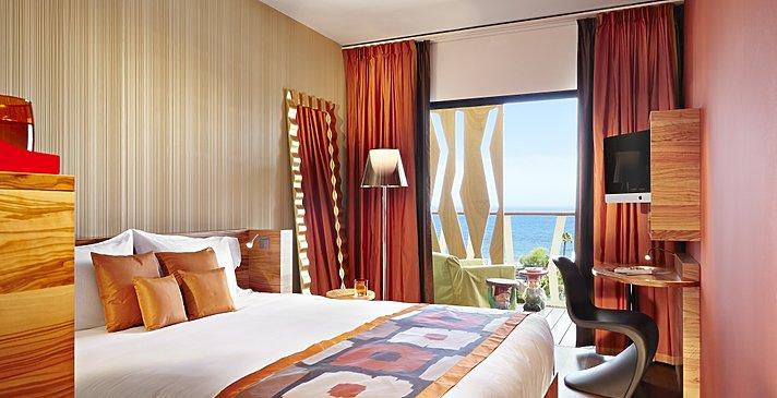 Deluxe Double Ocean View - Bohemia Suites & Spa