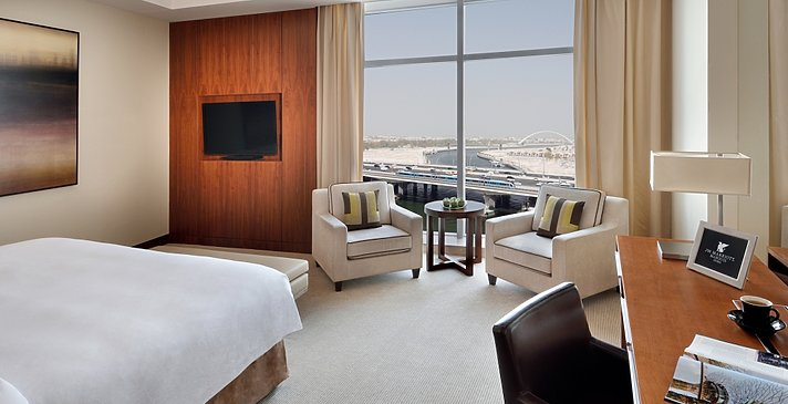 Deluxe-/Executive Room - JW Marriott Marquis Dubai