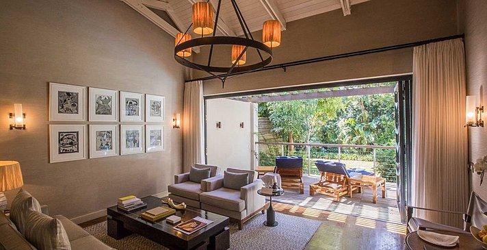 Deluxe Garden View Suite - Delaire Graff Lodges & Spa