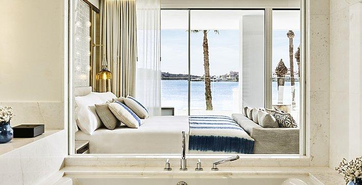 Deluxe Junior Suite Sea View - Nobu Hotel Ibiza Bay