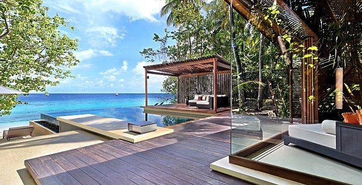 Deluxe Park Pool Villa - Park Hyatt Maldives Hadahaa