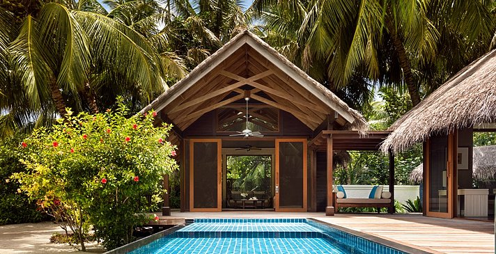 Deluxe Pool Villa - Shangri-La`s Villingili Resort and Spa