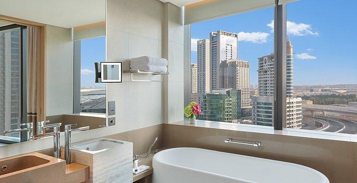 Deluxe Room Marina View (Twin) - Badezimmerbeispiel