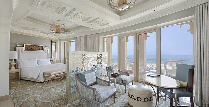 Deluxe Sea View Balcony Zimmerbeispiel eines gebogenen layouts