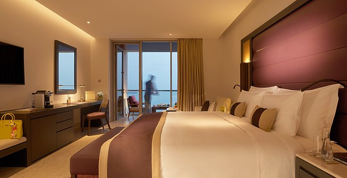 Deluxe Sea View Room - Kempinski Hotel Muscat