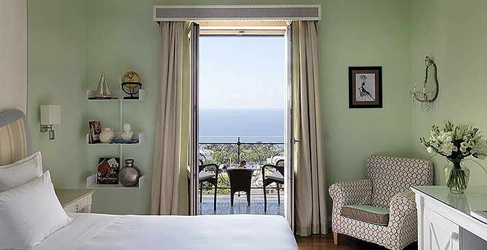 Deluxe Sea View Room - Tiberio Palace