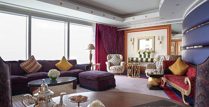 Deluxe/Sky Suite Wohnzimmer - Burj Al Arab Jumeirah