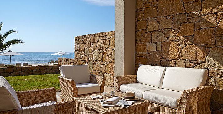 Deluxe Suite Beach Front - Sani Asterias