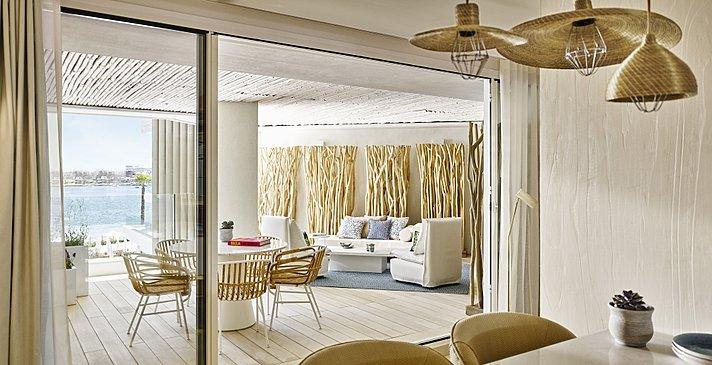 Deluxe Suite Sea View - Nobu Hotel Ibiza Bay
