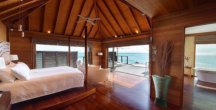 Deluxe Water Villa - Conrad Maldives Rangali Island