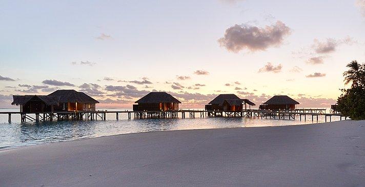 Deluxe Water Villas - Conrad Maldives Rangali Island