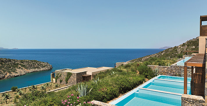 Dexlue Room Sea View mit Pool - Daios Cove Luxury Resort & Villas