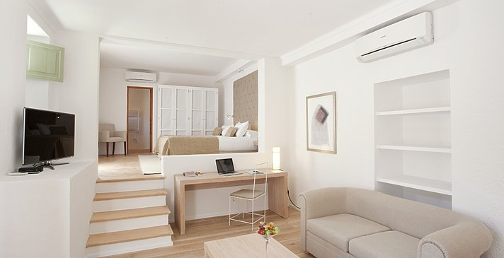 Doppelzimmer Beach House - Hotel Can Simoneta