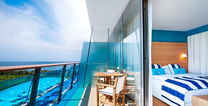 Doppelzimmer Meerseite - Falkensteiner Hotel & Spa Iadera