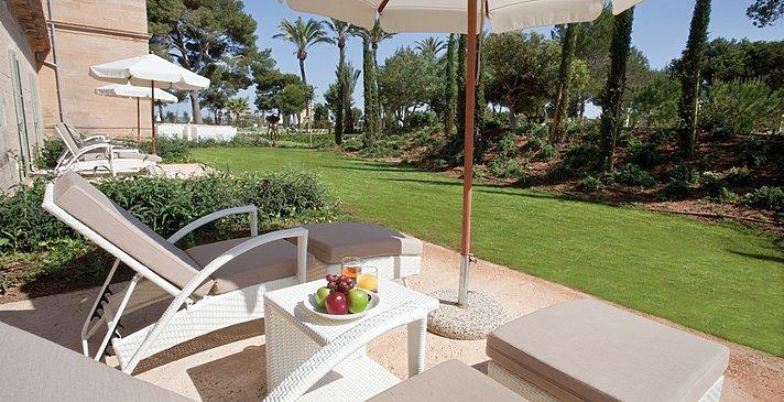 Doppelzimmer mit Terrasse - Fontsanta Hotel Thermal Spa & Wellness