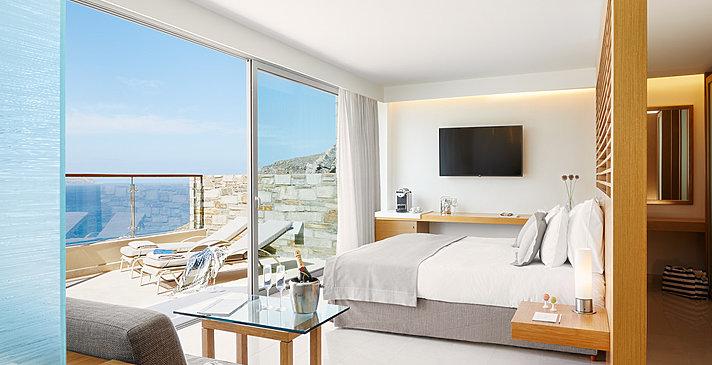 Double Deluxe Room - Lindos Blu Luxury Hotel & Suites