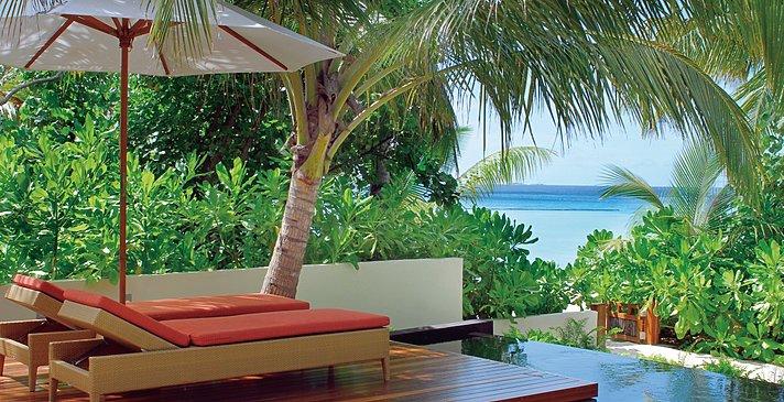 Double Storey Beach Villa - Constance Halaveli Resort