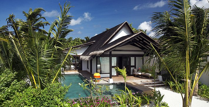 Earth Family Suite mit Pool - OZEN at Maadhoo